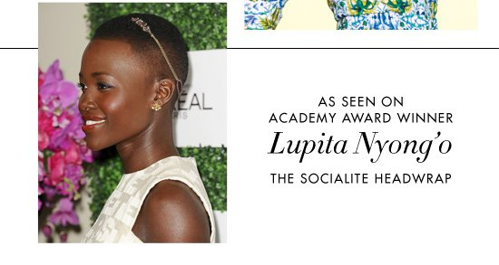 LUPITA NYONG'O The Socialite Headwrap