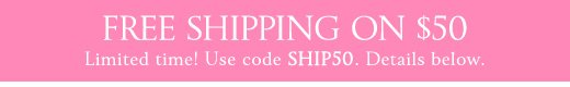 Free Shipping On $50