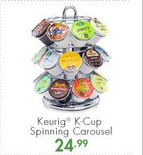 Keurig® K-Cup Spinning Carousel 24.99