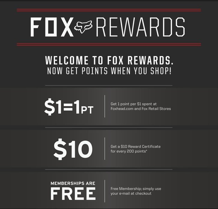 Fox Loyalty Rewards Program