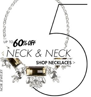 NECKLACES UP TO 60 OFF
