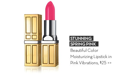 STUNNING SPRING PINK. Beautiful Color Moisturizing Lipstick in Pink Vibrations, $25.