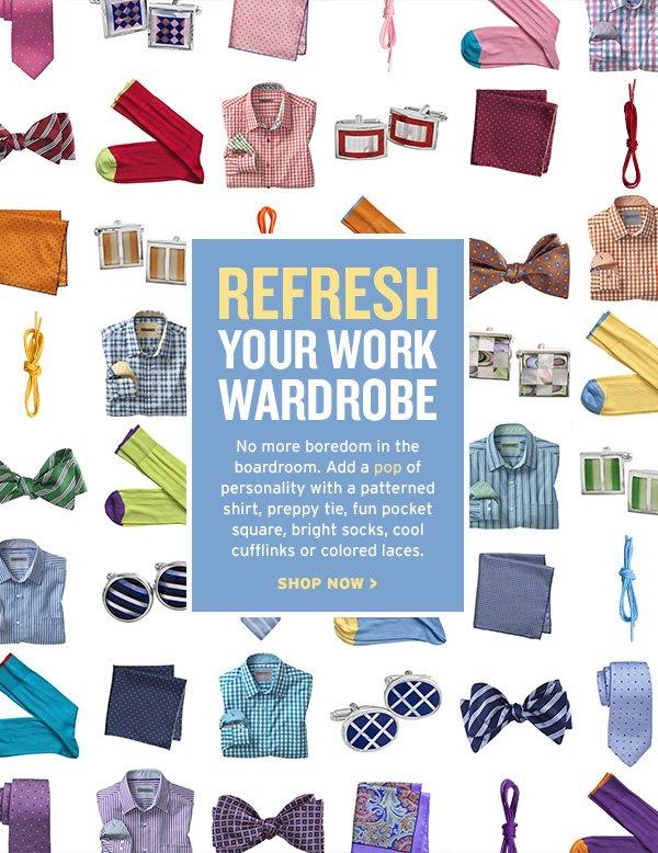 Refresh Your Work Wardrobe