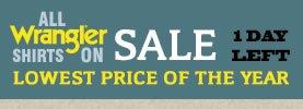 All Wrangler Shirts on Sale
