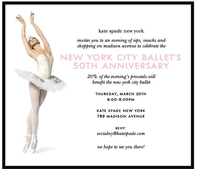 new york city ballets 50th anniversary.