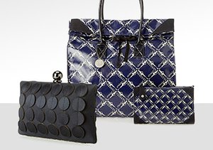 Geometric Prints: Handbags & More
