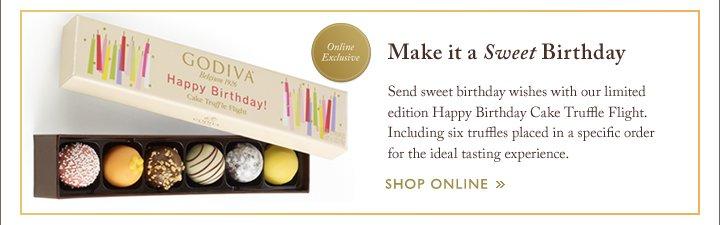 Make it a sweet Birthday | SHOP ONLINE »