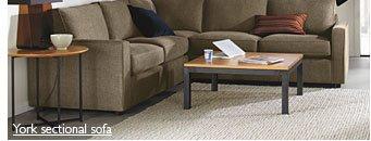 York sectional sofa
