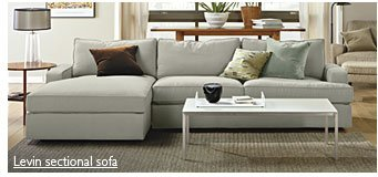 Levin sectional sofa