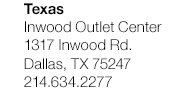 Texas - Inwood Outlet Center