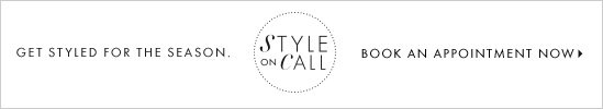 Get styled for the season.  Book an appointment now