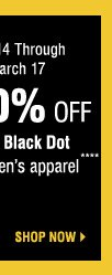 Yellow Dot Clearance Shop Now