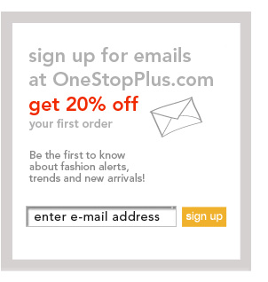 Sign up for Emails and get 20% OFF your first order