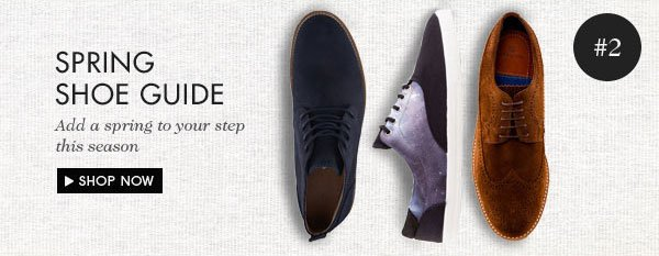 Add a spring to your step this season