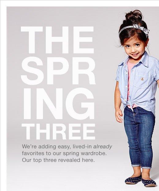 THE SPRING THREE