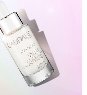 SATINY SERUM. Brighter, more even skin is yours with this smooth serum packed with viniferine, one of the most effective natural molecules to fight dark spots. CAUDALIE Vinoperfect Radiance Serum, $79 SHOP NOW