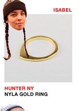 Hunter NY Nyla Gold Ring