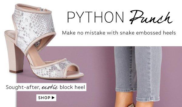 Python Punch: Shop Gayle