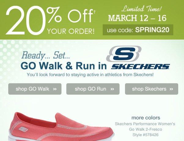 GO Skechers!