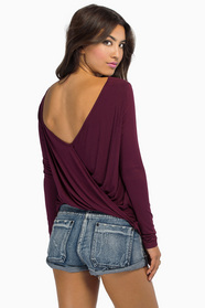 Twist Around Top $32