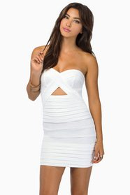 Diana Strapless Bodycon Dress $54