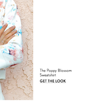 Poppy Blossom Sweatshirt