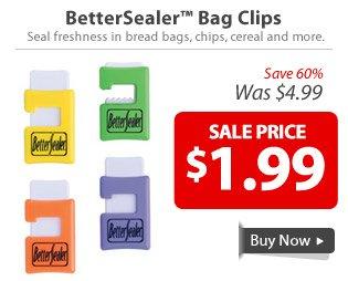 BetterSealer™ Bag Clips
