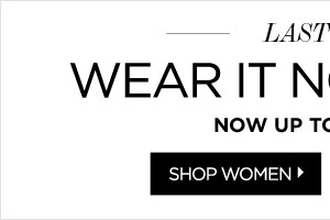 Women's Apparel Up to 75% Off*