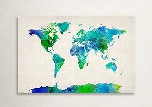 Worldly Walls: Michael Tompsett Maps