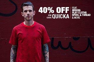 Quickstrike 40% Off