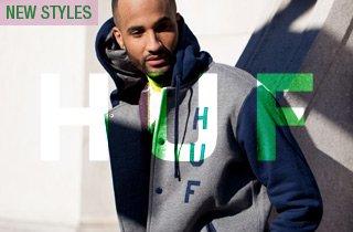 HUF: New Clothing