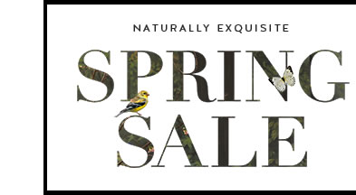 Naturally Exquisite Spring Sale
