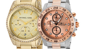 Watches by Michael Kors and more