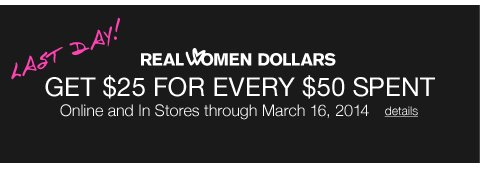 Real Women Dollars