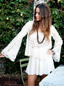 Show Me Your Mumu Flora Fan Top in Lola Lace Natural