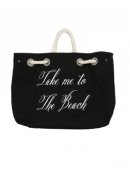 Wildfox Take Me to the Beach Bag in Black