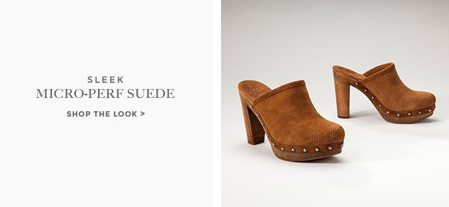 MICRO-PERF SUEDE