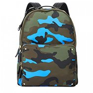 VALENTINO - Camouflage print nylon backpack