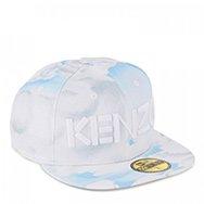 KENZO - X New Era cloud print twill cap