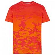 KATIE EARY - Degradé camouflage print cotton T-shirt