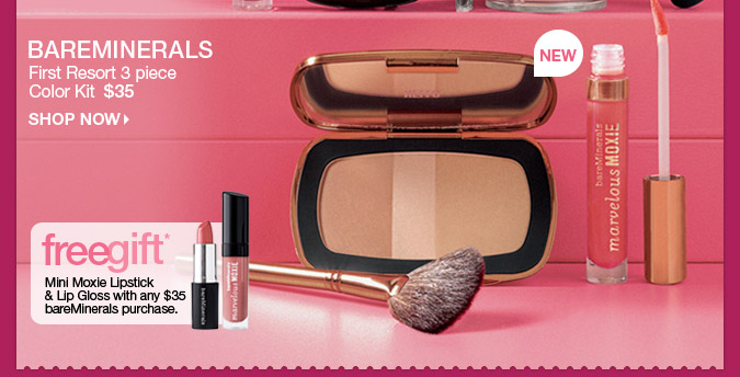 First Resort 3 piece Color Kit  $35 > Shop Now