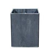 Kloss 10 Flower Pot/Candleholder, iron, Untreated