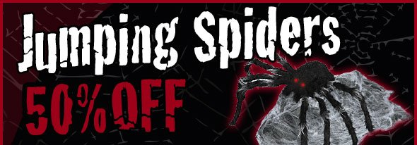 jumping Spider now only 39.99
