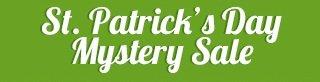St. Patrick's Day Mystery Sale