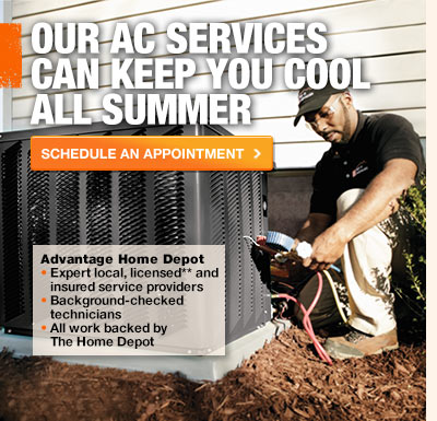 Our AC services can keep you cool all summer.