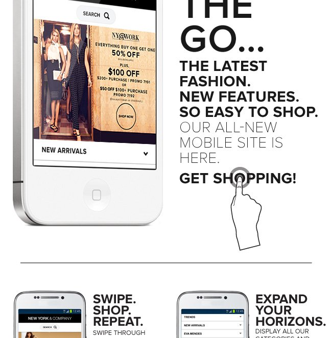 Our All New Mobile Site is Here!
