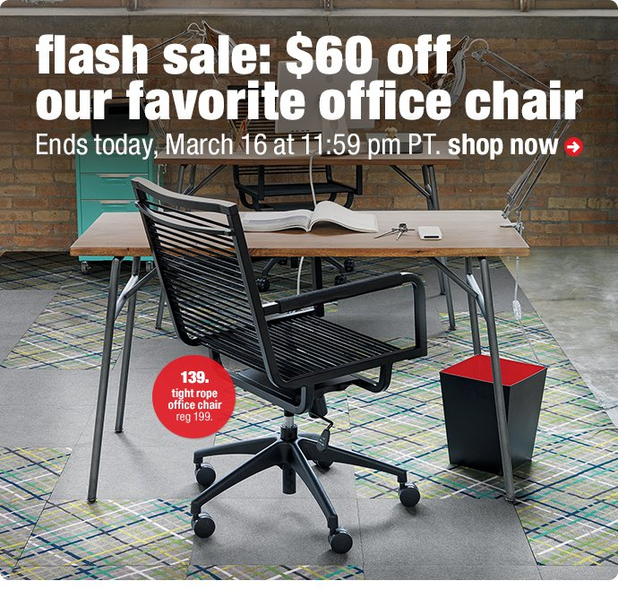 tight rope office chair