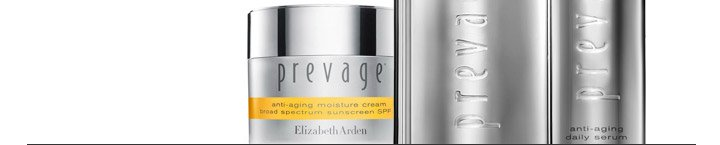 Skin's Best Defense Against Aging. Studies show that exposure to sun, smoke, pollution and other environmental threats can accelerate skin-aging twice as fast.* SHOP PREVAGE®.