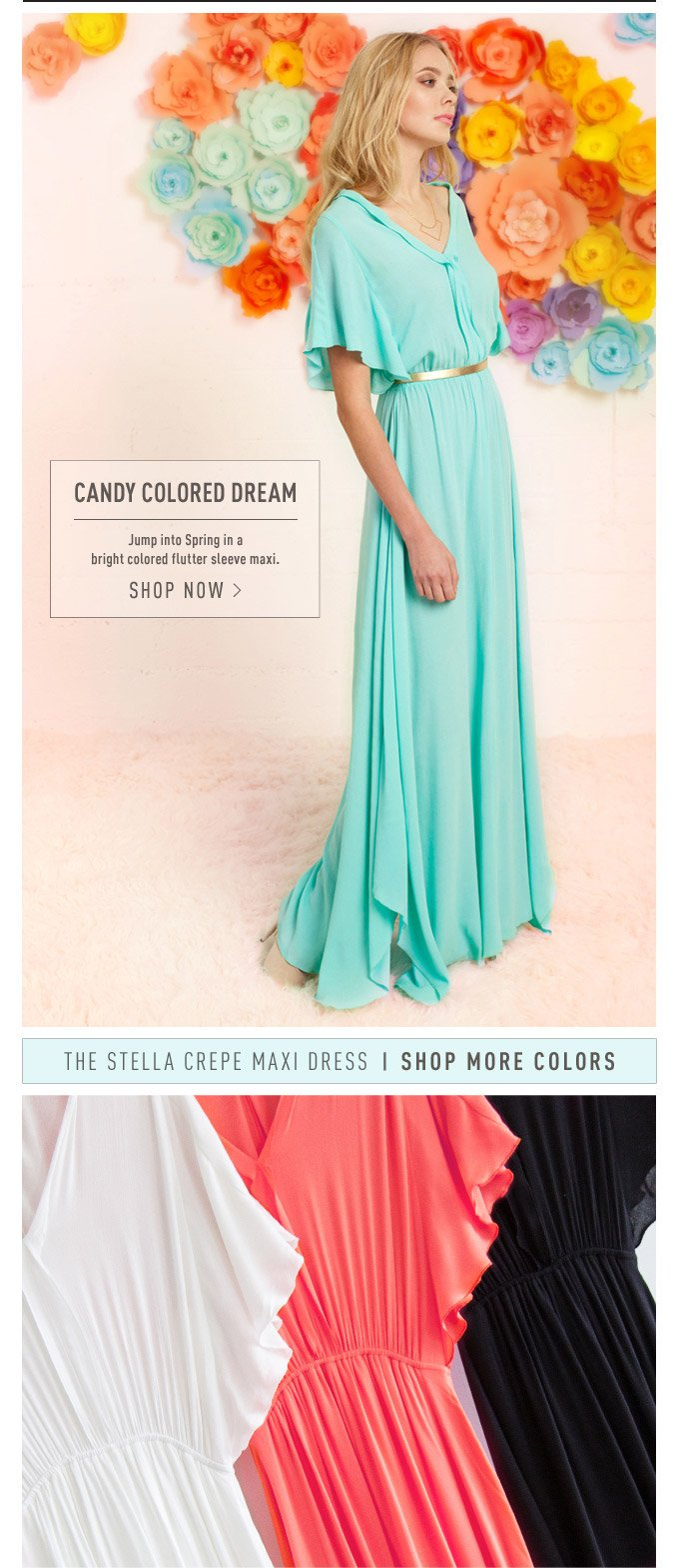 Candy Colored Dream - Shop Now