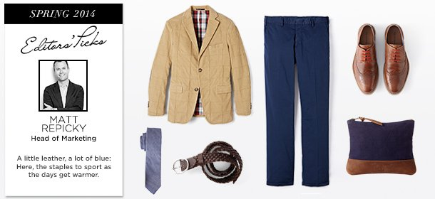 Editors' Picks: Spring 2014 Essentials